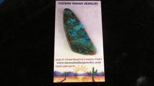 Turquoise Mountain Cabochon (Kingman)